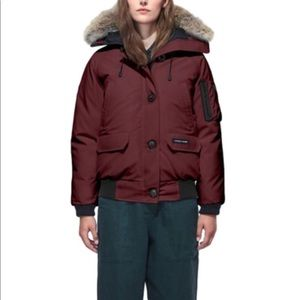 NWT Authentic Canada Goose Chilliwack Bomber xs